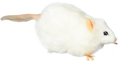 Hansa Mouse Plush Animal Toy 5 White