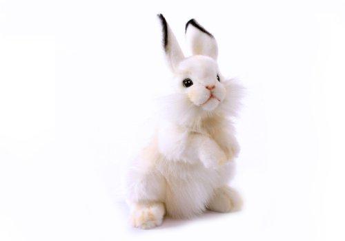 Hansa Rabbit Plush Animal Toy 13 White