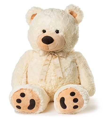 Huge Teddy Bear - Cream
