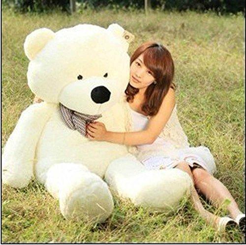 MorisMos Giant Big Plush Toys Teddy Bear Stuffed Animal 100CM White