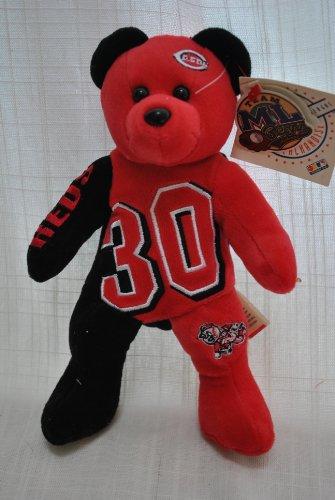 Ken Griffey Jr Cinncinatti Reds Player LOGO 8IN collectible TEDDY BEAR