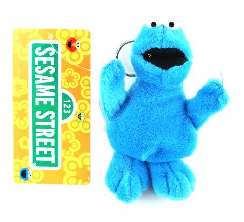Cookie Monster Plush Keychain - Sesame Street Keychain