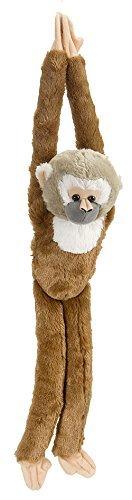 Wild Republic Europe 51 cm Hanging Monkey and Squirrel Plush Toy by Wild Republic Europe