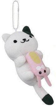 Banpresto Neko Atsume Kitty Collector Spots Plush Doll Key Chain Vol2