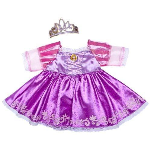 Build a Bear Workshop Rapunzel Costume 2 pc Disney Princess Teddy Bear Clothing