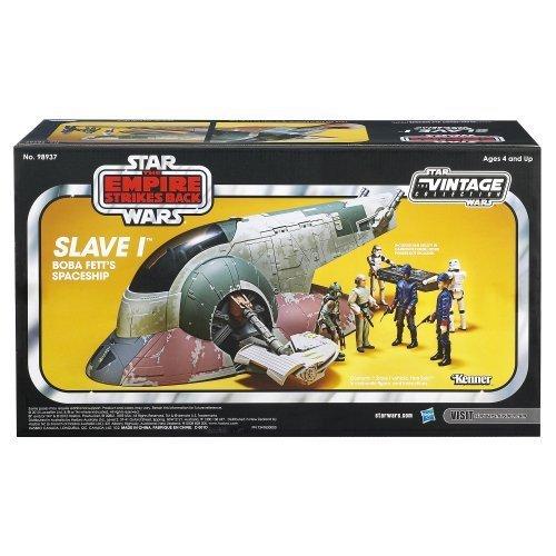 GamePlay Star Wars The Empire Strikes Back Slave I Boba Fetts Spaceship Vehicle Amazon Exclusive KidChild