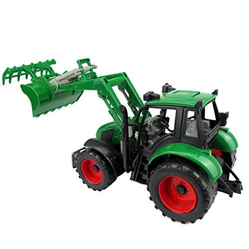 Happy Cherry Die Cast Excavator Metal Plastic Construction Toys Vehicle for Kids
