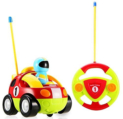 PowerTRC Cartoon RC Race Car Radio Control Toy for Toddlers Team RC