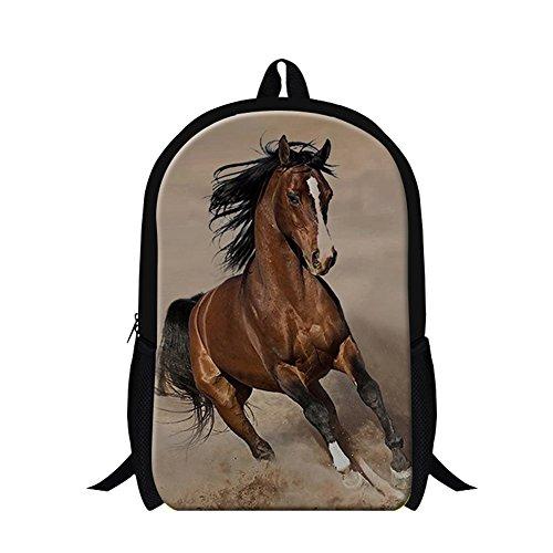Generic Plush Horse Backpacks for Mens Kids Fashion Bookbags
