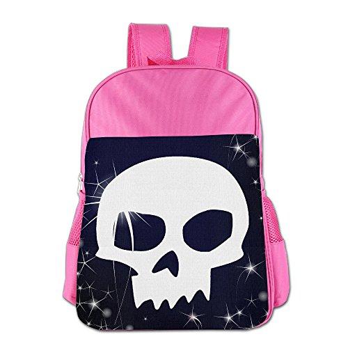 IOH Sid Skull Toy Story Boy Girl Fashion Bookbag Pink