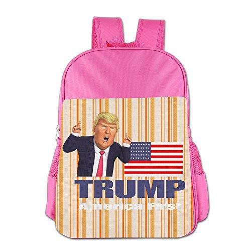 IOH TRUMP Kids Fashion Bookbag Pink