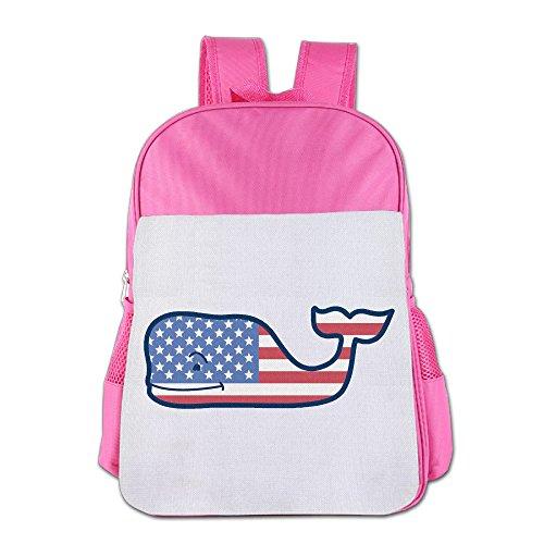 IOH Vineyard Vines Boy Girl Fashion Bookbag Pink