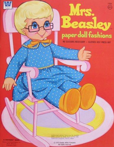 Whitman MRS BEASLEY PAPER DOLL FASHIONS Book UNCUT 1972 FAMILY AFFAIR Co