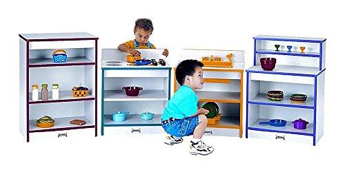 Rainbow Accents 4 Pc Toddler Kitchen Set Orange