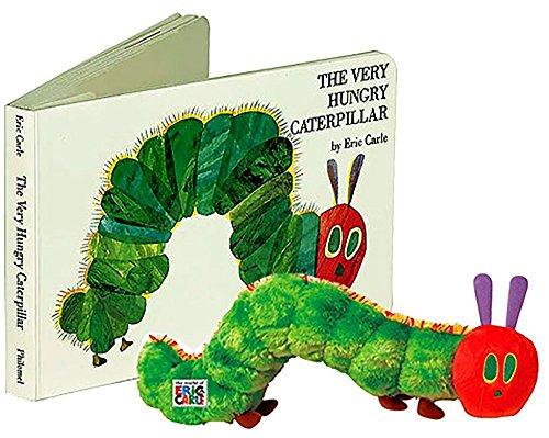 The Very Hungry Caterpillar Boardbook Plush toy Gift Set