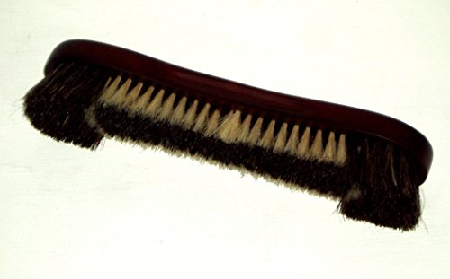SGL Deluxe 12 Mahogany Quality Snooker  Pool Table Brush With Genuine Horsehair