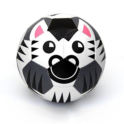 Daball Toddler Soccer Ball Happy The Zebra