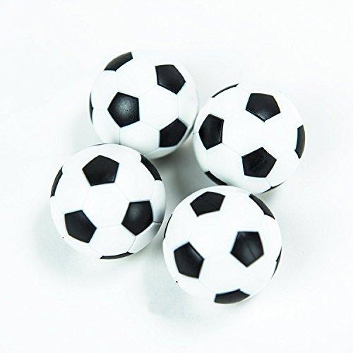 HUJI Foosballs Replacement Mini Soccer Balls 4