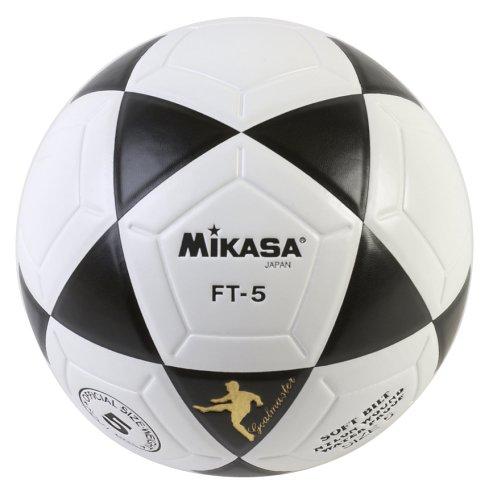 Mikasa FT5 Goal Master Soccer Ball BlackWhite Size 5