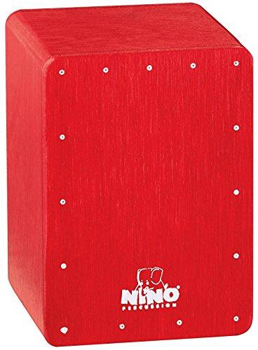 Nino Percussion NINO955R Mini Cajon Shaker Red