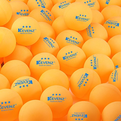 50-Pack KEVENZ 3-Star 40mm Orang Table Tennis BallsAdvanced Training Ping Pong Balls Practice ping-pong Ball
