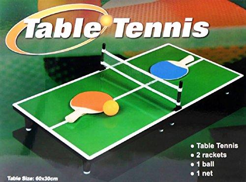 Mini Portable Tabletop Table Tennis Ping Pong Game Set