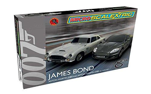 Scalextric James Bond Micro Slot Car Race Set 164 Scale