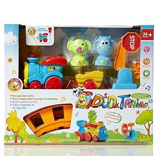 Lollopop Toys DuDu Choo Choo Train Track Set