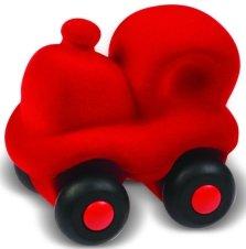 Rubbabu Microvehicles Red Choo Choo Train 3 inches