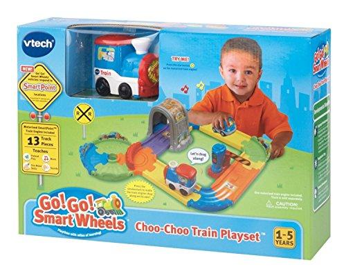 Vtech Go Go Smart Wheels Interactive Choo-choo Train Tracks Kids Playset
