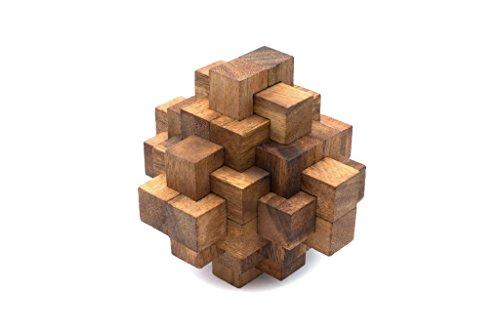 SiamMandalaySymmetry Diamond - Wooden Interlocking Mechanical Puzzle