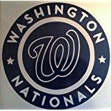 Washington Nationals Cornhole Board Decals - Cornhole Decals and 2 Hole Rings