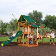 Pathfinder II Cedar Swing Set