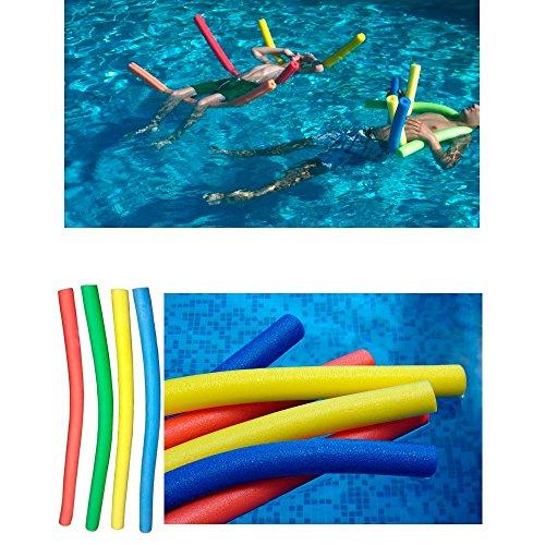 2 Swimming Floating Pool Foam Noodle Swim Noodles Water Float Floatie Crafts