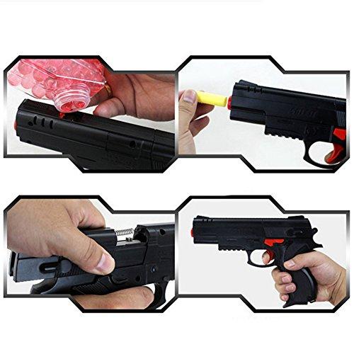 Kidlove Military Model Toy Gun Soft Shells Water Pistol