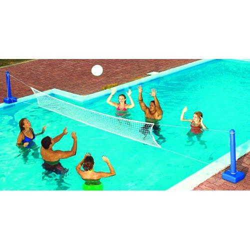 Swimline 9186SL Jammin Inground Cross Pool Volleyball Game Model