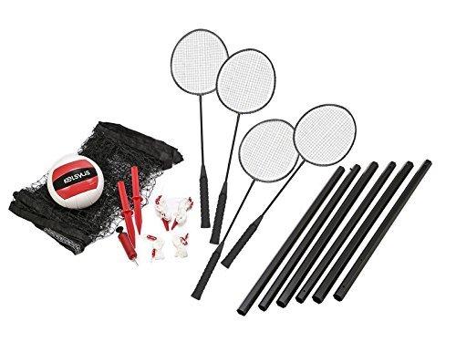 kelsyus Premium BadmintonVolleyball Game Set by Kelsyus