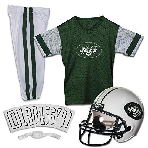Franklin Sports NFL New York Jets Deluxe Youth Uniform Set Medium