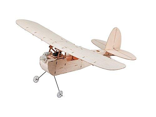 RC Airplane Mini Balsa Wood Airplane Galileo Micro Indoor Model Only Kit
