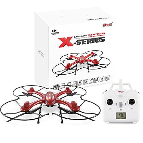 Qsmily MJX X102H Professional Drone 24G 4CH 6 Axis RC Quadcopter with Air Press Altitude Hold Headless Mode One Key Return No Camera
