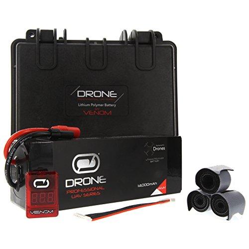 Venom 13000mAh 6S 222V Drone Professional High Capacity Battery 15C LiPo with XT150AS150 Plug