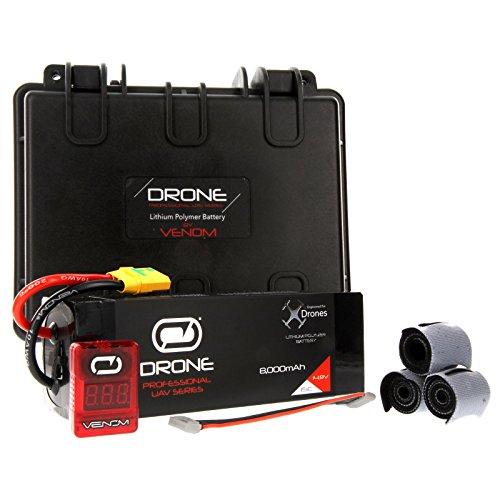 Venom 8000mAh 4S 148V Drone Professional High Capacity Battery 15C LiPo with XT90-S Plug