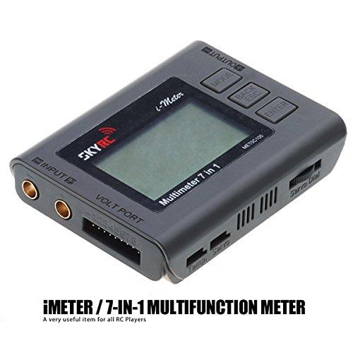 New SKYRC 7 In 1 Multimeter Digital RC Battery Checker Watt Meter Servo Tester By KTOY
