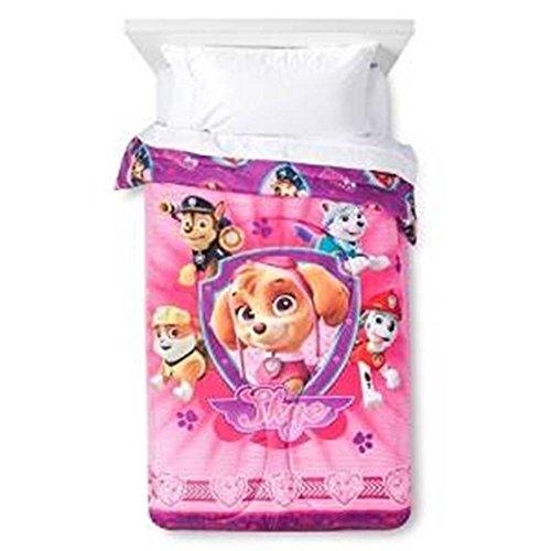 Paw Patrol Skye Comforter Pink - Twin Size