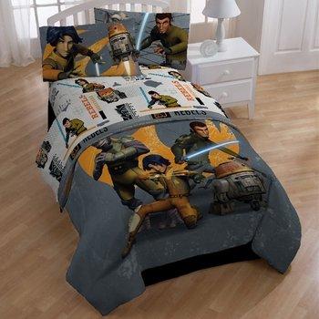 Star Wars Rebels Defeat The Empire Bedding ComforterSheet Set-Twin Size