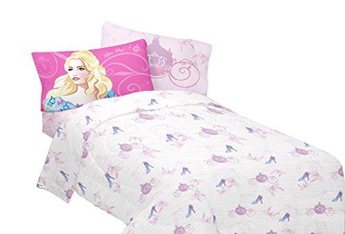 Disney Newest Live Action Cinderella Once Upon a Princess Sheet Set Twin