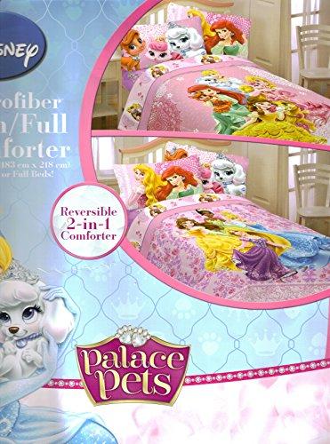 Disney Princess Palace Pets 5pc Full Comforter and Sheet Set Bedding Collection