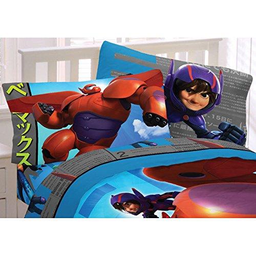 Big Hero 6 Heroic Robot Microfiber Sheet Set Twin