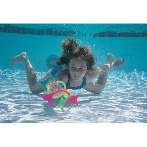 Water Gear Goin Fishin Dive Rings 4 pcs