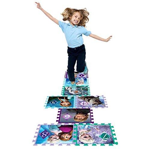 DISNEY CARTOON CHARACTER CHILDRENS KIDS BABY INTERLOCKING SOFT EVA PLAY AREA MAT GYM FOAM JIGSAW FLOOR TILES TOY PUZZLE Disney Frozen Hopscotch Game by DISNEY CHARACTER